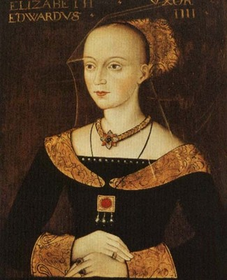 Elizabeth Woodville. Did she use the king's feet for dark purposes?