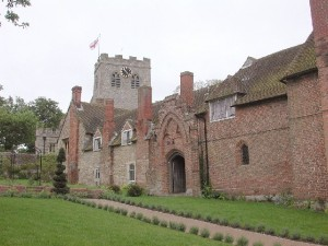 The almshouses erected by William and Alice
