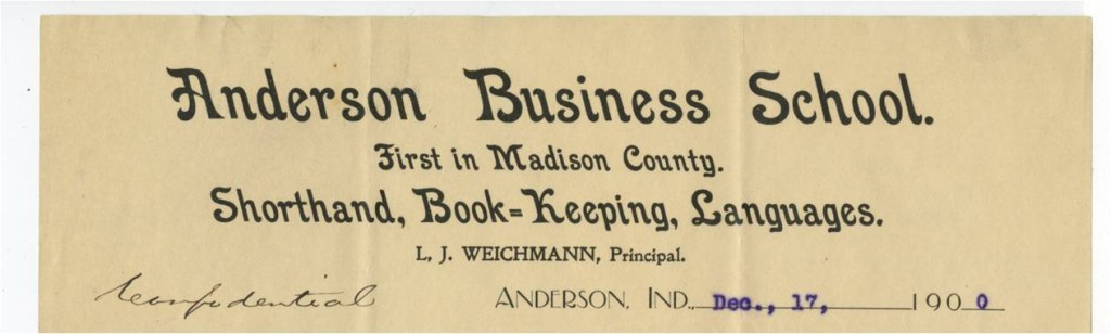 Anderson Business School letterhead