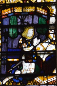 Prince Arthur from the Magnificat Window at Great Malvern Priory, c.1501